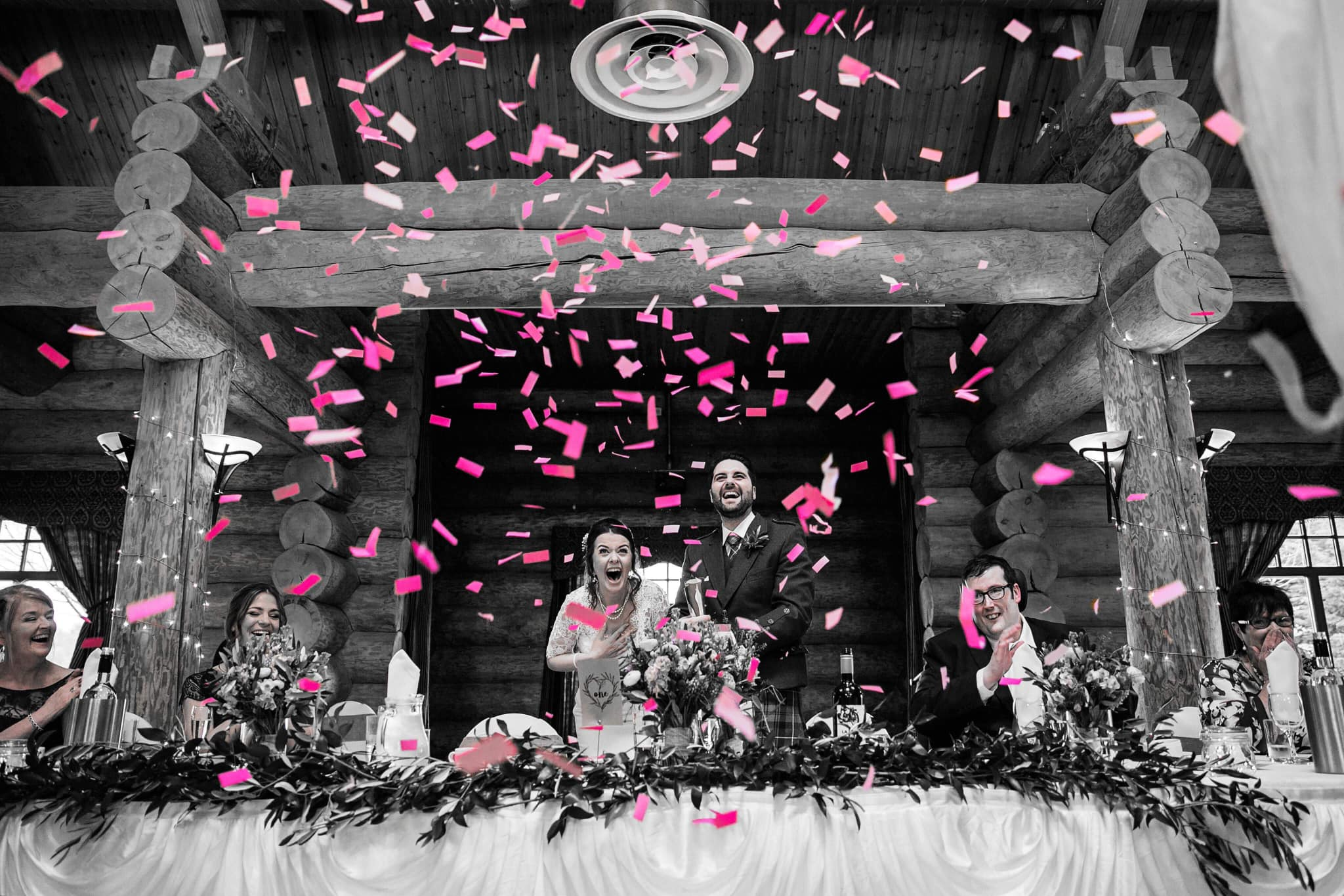 Wedding Gender Reveal Confetti Cannons